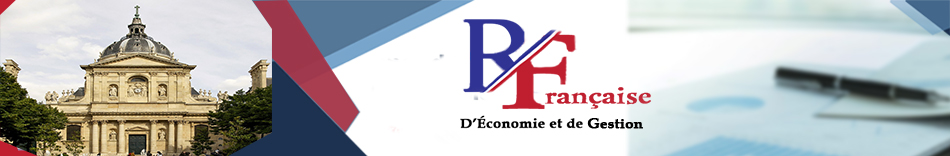 Revue Française d'Economie et de Gestion